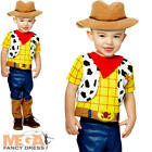 Woody Infants Fancy Dress Disney Toy Story Western Cowboy Toddler Babies Costume