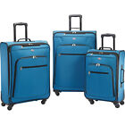 American Tourister Pop Plus 3pc Spinner Set 4 Colors Luggage Set NEW фото