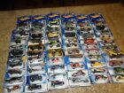 (60) LOT HOT WHEELS LOW RIDER MUSTANG GOLF CART MOTORCYCLE UNOPENED BLISTER PACK