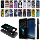 For Samsung Galaxy S8+ Plus G955 Hybrid Bumper Protective Case Cover + Pen