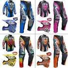 Wulf Attack Kids Motocross Jersey Pants Flite MX Helmet & LEO Gloves Goggle