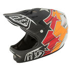 Troy Lee Designs D2 Full-Face BMX Mountain Bike Helmet -FUSION BLACK - All Sizes