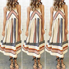 New Women BOHO Long Evening Party Cocktail Prom Floral Summer Beach Maxi Dress Y