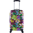 "Travelers Club Luggage Savannah 20"" Expandable Hardside Hardside Carry-On NEW"