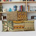 """18"""" Indian Style Totem Vintage Cushion Cover Throw Pillow Case Sofa Home Decor"""