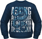 ASKING ALEXANDRIA Snakes From Death To Destiny CREW NECK SWEATER JUMPER PULLOVER