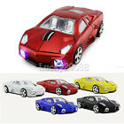 Gift 1600DPI Optical 2.4Ghz Lamborghini car Wireless Mouse PC Mice USB Receiver