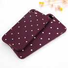 For iPhone 6 7 Plus Slim Shockproof Silicone Polka Dot Soft TPU Case Cover O0046