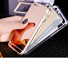 For iPhone 6S 7 Plus Mirror Case Cover Luxury Ultra-thin Soft Silicone TPU O0045
