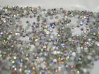 ROUND SWAROVSKI CRYSTAL RHINESTONES - CLEAR & IRREDESCENT AB  1.8mm SS5 nail art