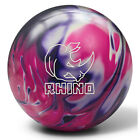Brunswick Rhino Bowling Ball - Purple/Pink/White Pearl