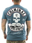 Mafia & Crime Shirt Worldwide navy 182-C NEU Männer T-Shirt