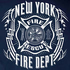 New York Fire Department T-shirt Tribal – Sizes S to 5XL Short/Long Sleeve