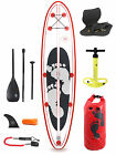 "Model II Premium Rojo 10'10 x 4"" Inflatable Paddle Board + Deluxe SUP Package"
