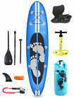 "Model III Premium Azul 10'10 x 4"" Inflatable Paddle Board + Deluxe SUP Package"