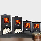Reepham Multifuel Clean Burn Log Burning Steel Wood Burner Stove Fireplace New