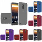 For ZTE Max XL Blade Max 3 TPU Rubber Flexible Phone Skin Case Cover