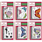 Cherry Green - BUTTERFLIES and HYDRANGEAS - Stamp Collection - You Choose