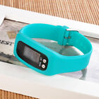 LCD Digital  Pedometer Wrist Step Run Walking Distance Calorie Counter Watch