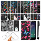 "For Alcatel TRU 5065 Stellar Pop 3 5"" Ultra Thin Clear Soft TPU Case Cover + Pen"