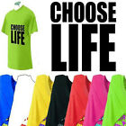 Choose Life - 80s Retro Fancy Dress Mens Unisex T Shirt  S-XXL