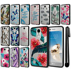 For LG Aristo MS210 LV3 K8 M150 Fortune Hybrid Clear TPU bumper Case Cover + Pen