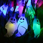 Halloween Solar Powered Ghost String Fairy Light Party Wedding Celebration Decor
