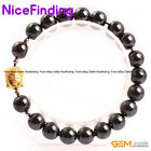 Natural Magnetic Black Hematite Therapy Healing Bracelets Jewelry For Man Women