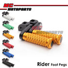 MC POLE 40mm CNC Adjustable Foot Pegs For Suzuki Gladius SFV 650 09-16 10 11 12