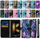 "For LG K20 Plus LV5 M250/ K10 2017 5.3"" Canvas Wallet Pouch Case Cover + Pen"