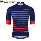 Men's Cycling Jersey Tour De France Pro Short Sleeve Bike Jacket Clothing Tops