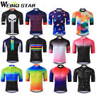 WEIMOSTAR Men Bike Sports Cycling Jersey Half Sleeve Short Cycling Clothing Tops
