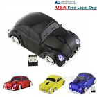 2.4Ghz Wireless VW beetle car mouse Optical Computer Game Mice + USB Receiver US