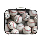 Cute Cartoon Ball Carry on Cabin Luggage Clothing Packing Cubes Cosmetic Pouches