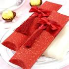 5x Wedding Favour Favor Sweet Gift Candy Box Table Decor Pillow Shape New LA
