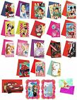 6 PARTY INVITATIONS - LICENSED CHARACTER DESIGNS Range (Birthday Supplies){SetB}