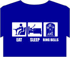 T shirt up to 5XL, Ring bells campanology, bell ringer, church tower bell prayer