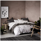 Home Republic Zinc Quilt Cover Grey White Dooner Cover
