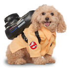 Ghostbuster Pet Dog Fancy Dress Halloween Movie Film Character Puppy Costume New