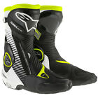 Alpinestars SMX Plus Motorcycle Boots Brand New Sizes S-MX + Fluo