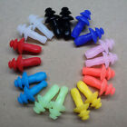 1/5/10 Pair Soft Silicone Ear Plugs Anti Noise Hearing Protection Earplugs Color