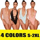 Women Fitness Sports Jumpsuit Bandage Bodysuit Leotard Romper Top Swimsuit 1PC