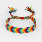 1/2 Boho Friendship Cotton Silk Bracelet Rasta Reggae Jamaica Surfer Wristband