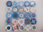 25 LAS VEGAS Casino Gaming Poker Chip Lot $1 Current Strip Hotel