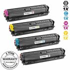 4 Pk 650A Black & Color Toner Cartridge Set for HP Laserjet Enterprise CP5525xh