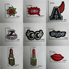 Patches For Clothing Embroidered Appliques DIY Apparel Accessories Patches @8
