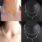 Women Charm Jewelry Pendant Chain Choker Chunky Bib Statement Necklace