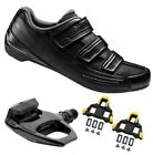 Shimano SH-RP2 SPD Touring Road Cycling Black Shoes with PD-R540 Pedals