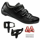 Shimano SH-RP2 SPD Touring Road Cycling Black Shoes with Wellgo W40 Pedals