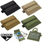 Внешний вид - Condor Vault Tri-Fold Travel Wallet ID Badge Pouch w/ Removable Neck Lanyard 235